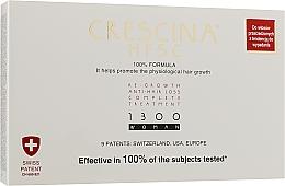 Духи, Парфюмерия, косметика Средство для восстановления роста волос для женщин 1300 - Labo Crescina Re-Growth Anti-Hair Loss Complete Treatment 1300 Woman