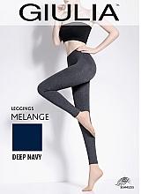 """Духи, Парфюмерия, косметика Леггинсы для женщин """"Leggings Melange"""", deep navy - Giulia"""
