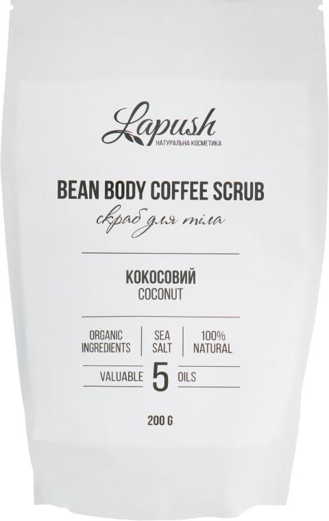 "Кофейный скраб для тела ""Кокос"" - Lapush Bean Body Coffee Scrub"