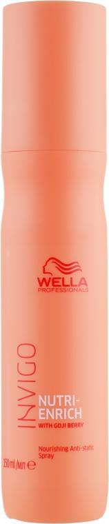 Антистатичный спрей для волос - Wella Professionals Invigo Nutri-Enrich Nourishing Antistatic Spray