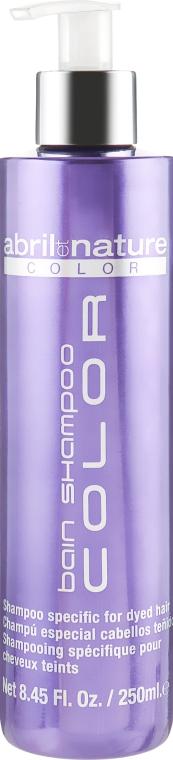 Шампунь для окрашенных волос - Abril et Nature Color Bain Shampoo