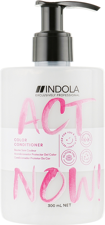 Кондиционер для окрашенных волос - Indola Act Now! Color Conditioner