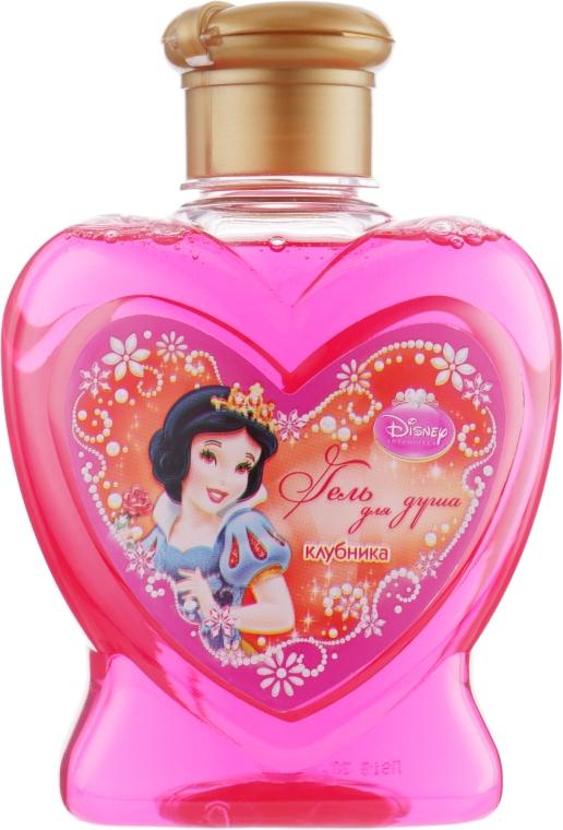 Гель для душа с ароматом клубники - Disney Princess — фото N1