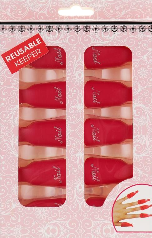 Клипсы для снятия гель-лака, красные - Avenir Cosmetics