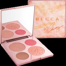 Духи, Парфюмерия, косметика Палетка для макияжа - Becca X Chrissy Teigen Glow Face Palette