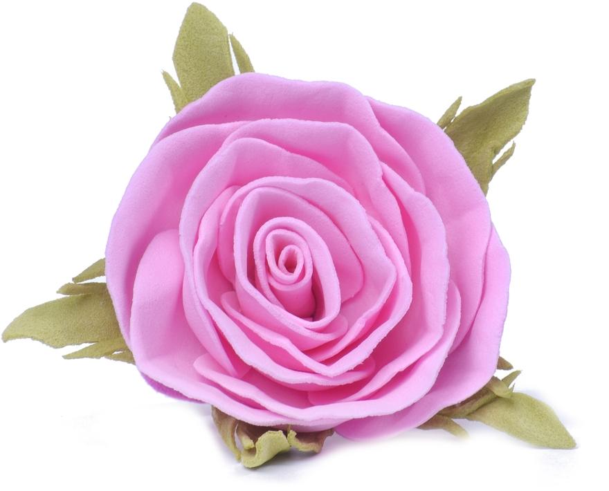 "Резинка для волос ""Розовая роза"", маленькая - Katya Snezhkova"