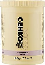 """Духи, Парфюмерия, косметика Порошок для осветления волос """"Супер Блонд Плюс"""" - C:EHKO Color Super Blond Plus Color Cocktail"""