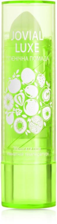 Гигиеническая помада для губ, салатовая - Jovial Luxe