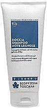 Духи, Парфюмерия, косметика Гель-шампунь для мужчин - Biofficina Toscana Woody Shampoo & Shower Gel