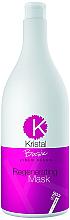 Маска регенерувальна для волосся - BBcos Kristal Basic Linen Seeds Regenerating Mask — фото N3