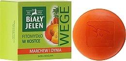 "Духи, Парфюмерия, косметика Мыло ""Морковь и тыква"" - Bialy Jelen Soap Carrot And Pumpkin"