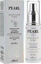 Духи, Парфюмерия, косметика Крем-бустер для лица дневной «Антигравитационная подтяжка» 40-45+ - Bielita Pearl Shine