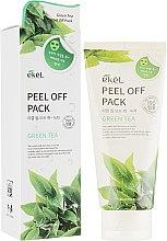 "Духи, Парфюмерия, косметика Глубокоочищающая маска-пленка ""Зеленый чай"" - Ekel Green Tea Peel-Off Pack"