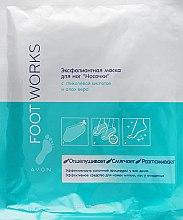 Духи, Парфюмерия, косметика Эксфолиантная маска для ног «Носочки» с гликолевой кислотой и алоэ вера - Avon Foot Works
