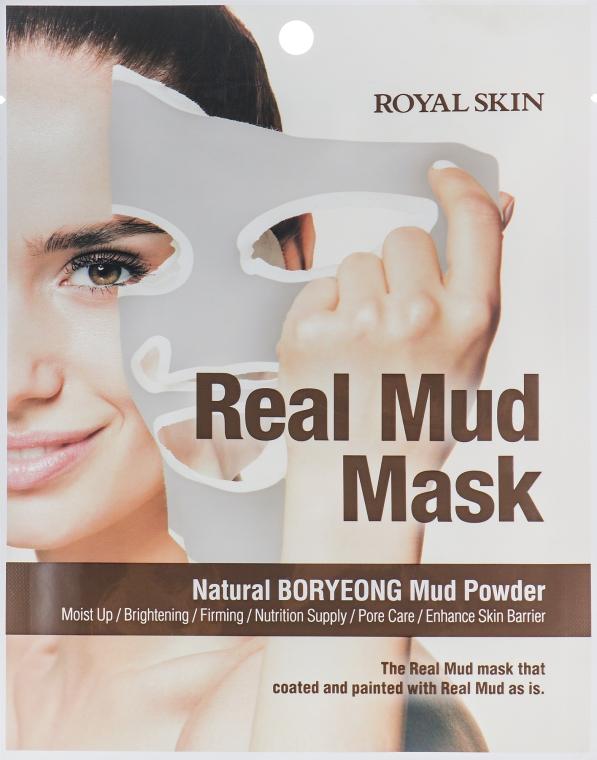 Маска для лица с натуральной глиной - Royal Skin Real Mud Mask
