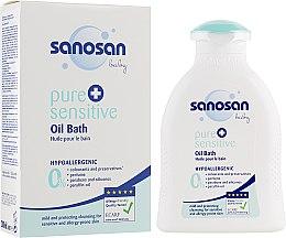 Духи, Парфюмерия, косметика Детское гипоаллергенное масло для купания - Sanosan Baby Pure & Sensitive Bath Oil