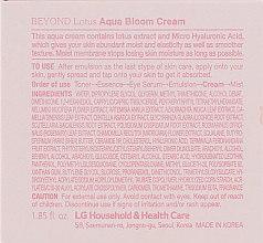 Крем для лица - Beyond Lotus Aqua Bloom Cream — фото N3