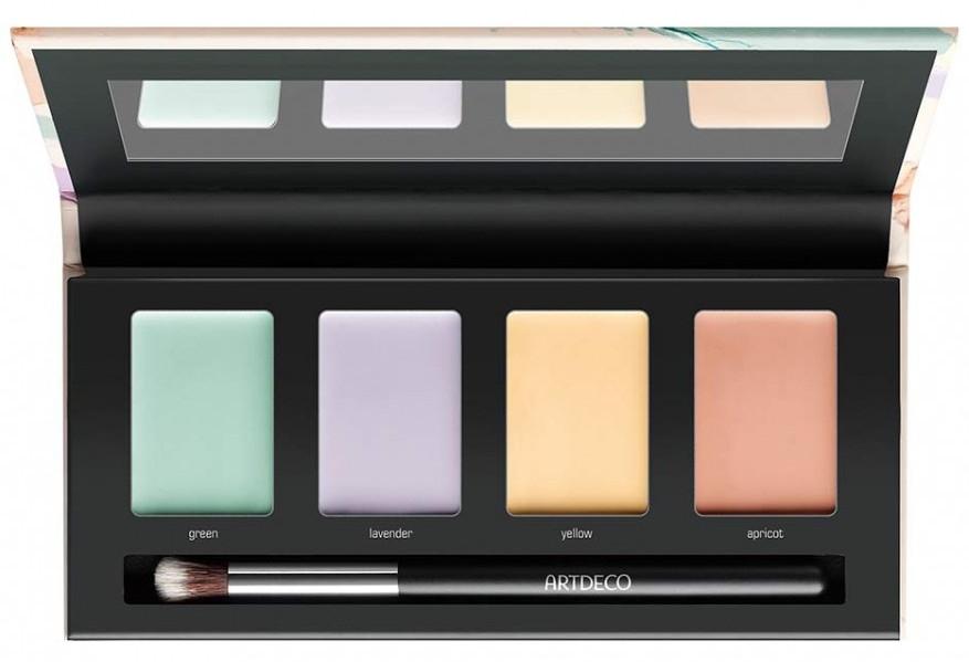 Палетка с 4 цветными оттенками для цветокоррекции кожи - Artdeco Most Wanted Color Correcting Palette