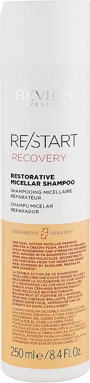 Шампунь для восстановления волос - Revlon Professional Restart Recovery Restorative Micellar Shampoo