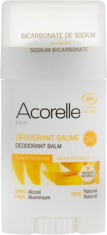 """Дезодорант-бальзам в стике """"Иланг-иланг и пальмароза"""" - Acorelle Deodorant Balm"""