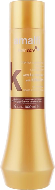 Бальзам-кондиционер с кератином и аргановым маслом - Amalfi Argan Keratin Hair Conditioner