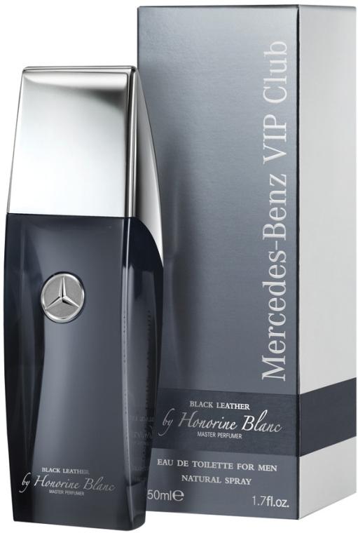 Mercedes-Benz Black Leather - Туалетная вода