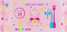 Духи, Парфюмерия, косметика Детские влажные салфетки - Normal Clinic Baby Soft