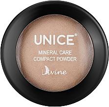 Парфумерія, косметика Мінеральна пудра для обличчя - Unice Divine Mineral Care Compact Powder