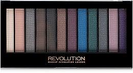 Духи, Парфюмерия, косметика Палетка теней для век - Makeup Revolution Redemption Hot Smoked