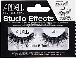 Духи, Парфюмерия, косметика Накладные ресницы - Ardell Studio Effects 231