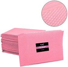 Духи, Парфюмерия, косметика Одноразовые бумажные коврики для маникюра, розовый, 50 шт - Tufi Profi