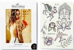 Духи, Парфюмерия, косметика Флеш-тату переводные - Miami Tattoos Mystery By Nora Ink