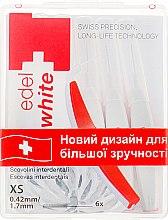 "Духи, Парфюмерия, косметика Щётки ""Profi-Line"" для межзубных промежутков XS - Edel+White Dental Space Brushes XS"