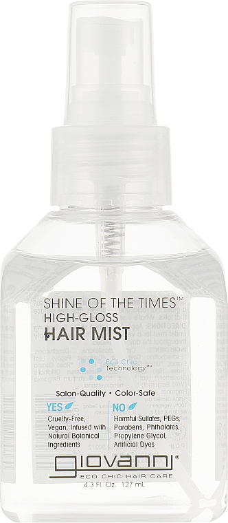 Спрей-блеск для волос - Giovanni Shine of the Times High Gloss Hair Mist