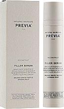Духи, Парфюмерия, косметика Филлер-сыворотка для волос - Previa White Truffle Filler Serum