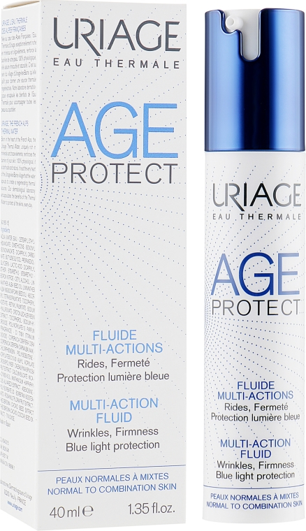 Эмульсия для лица против морщин для нормальной и комбинированной кожи - Uriage Age Protect Multi-Action