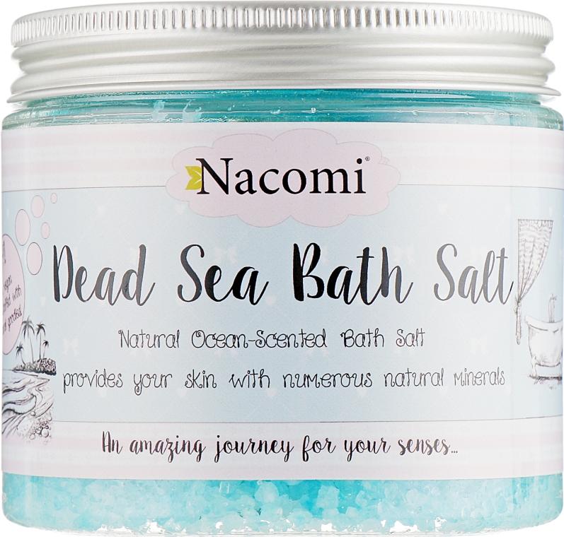 Соль мертвого моря для ванны с греческим ароматом - Nacomi Natural Greek Dead Sea Salt Bath