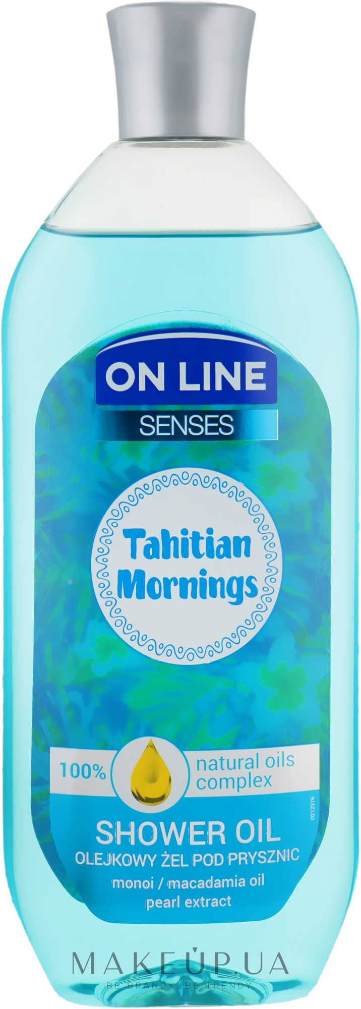 Масло для душа - On Line Senses Shower Oil Tahitian Morning — фото 500ml