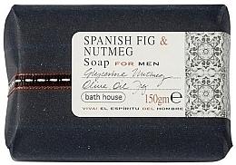 Духи, Парфюмерия, косметика Bath House Soap Bar Spanish Fig and Nutmeg - Парфюмированное мыло