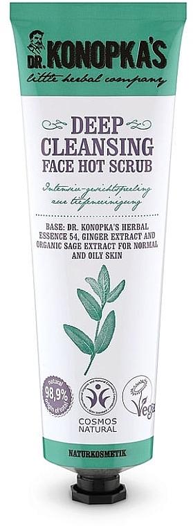 Скраб для глубокого очищения лица - Dr. Konopka's Face Hot Deep Cleansing Scrub