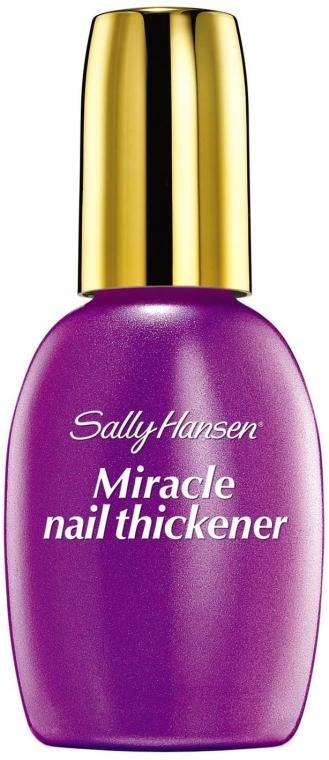 Средство для укрепления мягких и тонких ногтей, прозрачный - Sally Hansen Miracle Nail Thickener