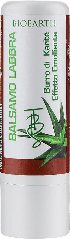 Бальзам для губ с маслом ши и алоэ - Bioearth Balsamo Labbra Burro di Karite ed Aloe