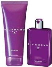 Духи, Парфюмерия, косметика John Richmond Richmond X Woman - Набор (edt/75ml + b/gel/150ml)