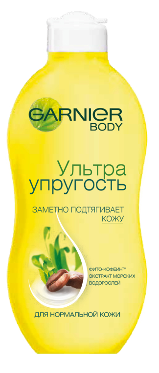 """Укрепляющее молочко для тела """"Ультра Упругость"""" - Garnier Skinat Body"""