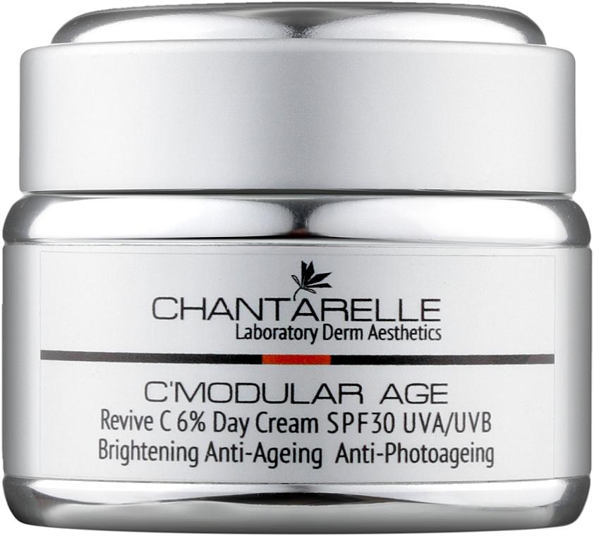 Осветляющий омолаживающий дневной крем с витамином С 6 % - Chantarelle Revive 6% Brightening Day Cream SPF 30