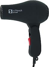 Духи, Парфюмерия, косметика Компактный профессиональный фен для волос, черный - Perfect Beauty Soft Touch Pocket Black