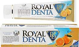 Духи, Парфюмерия, косметика Зубная паста с золотом и уншиу - Royal Denta Jeju Orange And Gold Technology Toothpaste