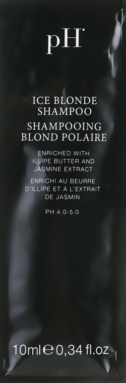 "Шампунь ""Ледяной блонд"" - Ph Laboratories Ice Blonde Shampoo (пробник)"