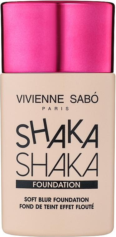 Тональный крем с натуральным блюр-эффектом - Vivienne Sabo Shaka Shaka