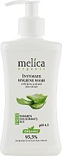 Духи, Парфюмерия, косметика Средство для интимной гигиены с молочной кислотой и экстрактом алоэ - Melica Organic Intimate Hygiene Wash